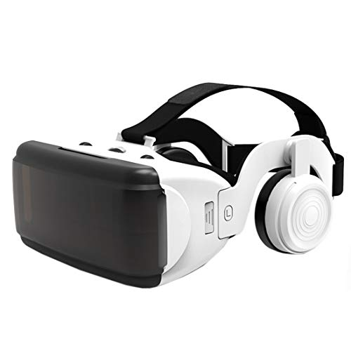 VR Headset Compatible with Android Phone - Universal Virtual Reality Goggles - Play Your Best Mobile Games 360 Movies with Soft,Comfortable New 3D VR Glasses w/Eye Protection