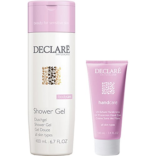 Declaré Bodycare Geschenpaket (Shower Gel, 400 ml + Handcream, 50 ml), 1er Pack (1 x 1 Stück)