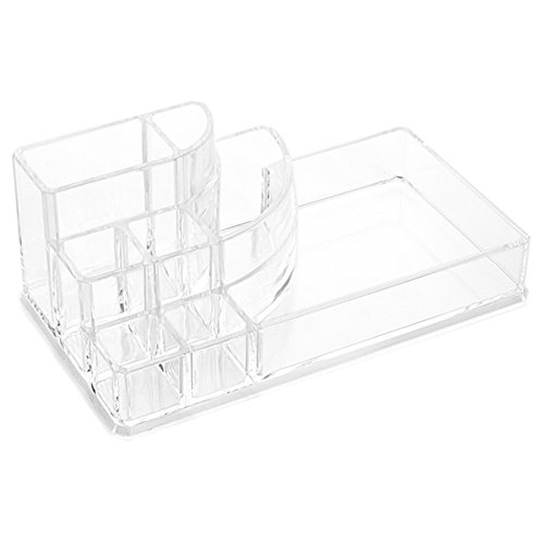 UOOOM Kosmetikorganizer Transparent Acrylic Kosmetik Aufbewahrung Organizer Make-Up Box Style F