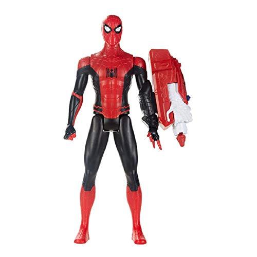 FJKYF Modelo De Animehero Expedition Spider-Man Modelo Articulación Móvil Muñeca Mano Niño...