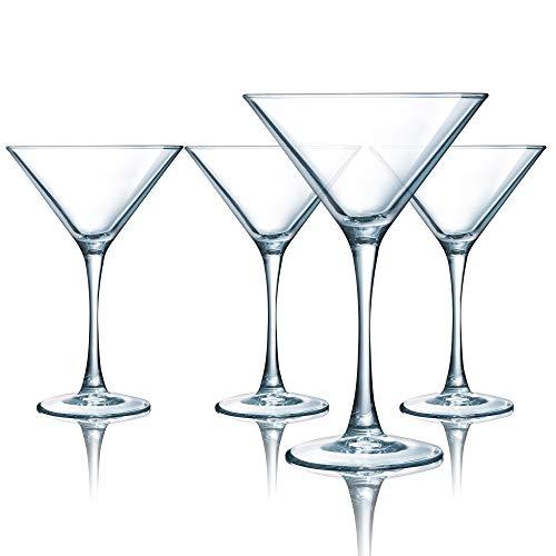 Luminarc ARC International Atlas Martini Glass (Set of 4), 7.5 oz, Clear