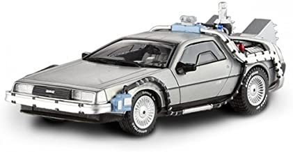 Hot Wheels BCK08 Delorean DMC-12 Back to The Future Time Machine with Mr. Fusion 1/43 Diecast Model Car by Hotwheels