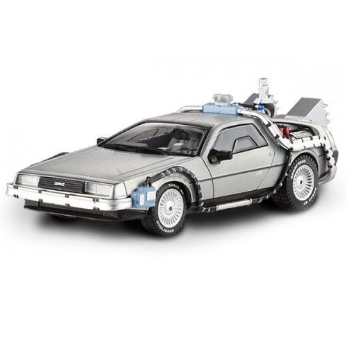 Hotwheels Elite 1: 43zurück in die Zukunft Delorean mit Mr. Fusion spritzgußmodell