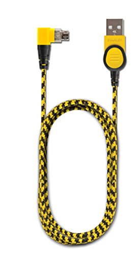 STANLEY 131 1724 ST2 BRAIDED REVERSIBLE MICRO LIGHTNING CABLE, 4' L