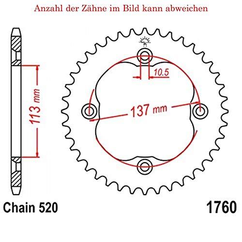JTR1131.62 JT Sprockets JT Kettenrad 62 Zähne Teilung 420