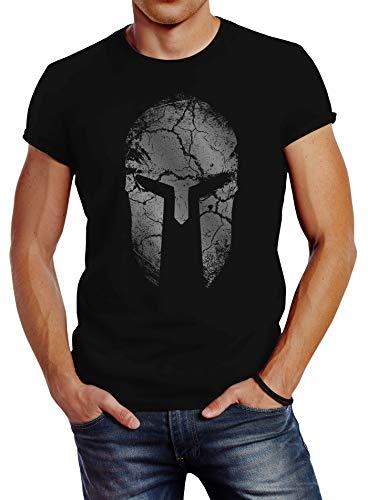 Pentagon Uomo Astir Canotta Spartan Warrior Nero