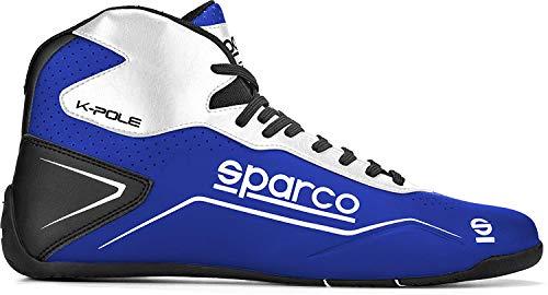 Sparco Kart Shoes K-Pole Size 43 Blu