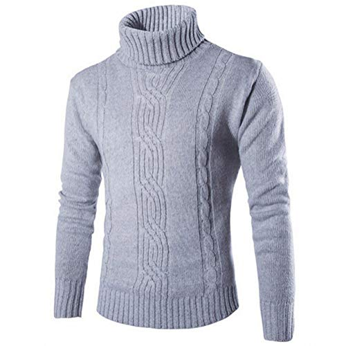 XZYP Pullover Lapel Jacquard Hedging Britse kleding Mens Coltrui Kersttrui
