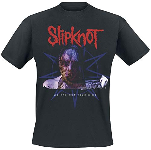 Slipknot We Are Not Your Kind Hombre Camiseta Negro, Regular