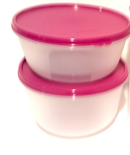 2 Multipurpose Purpose Bowls with Airtight Lids By Tupperware
