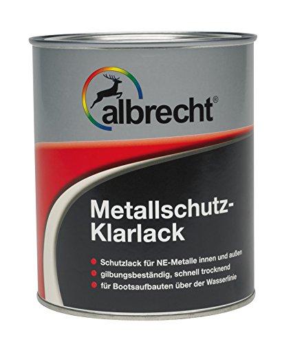 Lackfabrik J. Albrecht GmbH & Co. KG 3400606500000000750 Metallschutz-Klarlack farblos 750ml