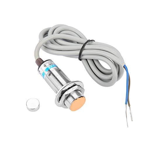 Interruptor de sensor de proximidad capacitivo, 10 mm de distancia NO/NC Medición de sensor de proximidad capacitivo Detector de interruptor Sensor de proximidad magnético(LG18A3-10-J/DZ NC)
