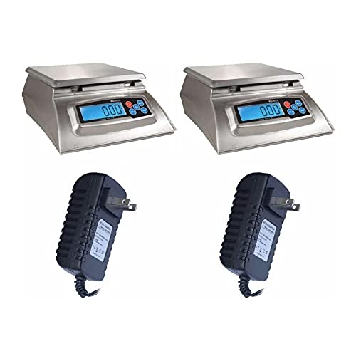 My Weigh KD-8000 Kitchen and Craft Digital Scales 2-Pack with AC Power Adapters (2 Items)