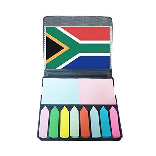 Zuid-Afrika Nationale Vlag Afrika Land Zelf Stick Note Kleur Pagina Marker Doos