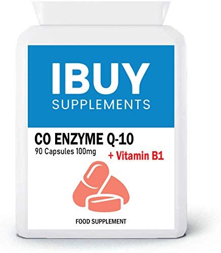 CoQ10 100mg 90 Capsules Naturally Fermented Trans Form UK Made