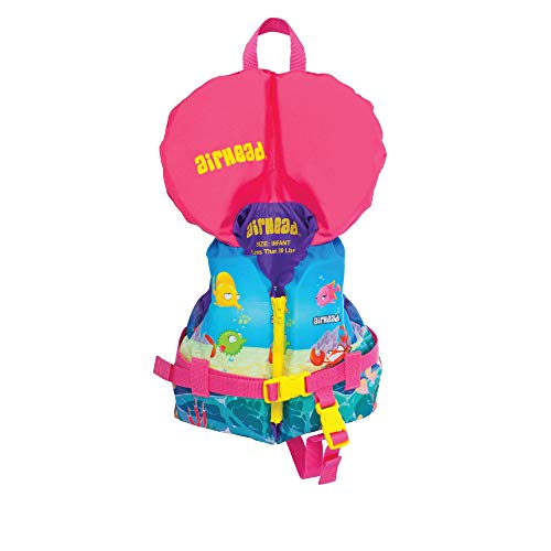 Airhead Infant's Treasure Life Vest, Pink (10089-01-A)