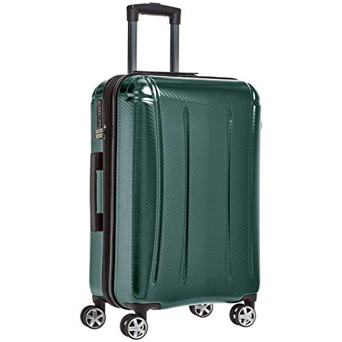 Amazon Basics Oxford Expandable Spinner Luggage Suitcase with TSA Lock -...