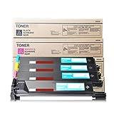 Cartuchos de tóner compatibles para Konica Minolta TN312 Reemplazo para Konica Minolta C300 352 352P Impresora láser, con chips-Combination