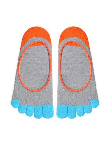 Sourcingmap Hommes couleur Yoga Chaussettes Coupe Bas 1 Pack 13-15