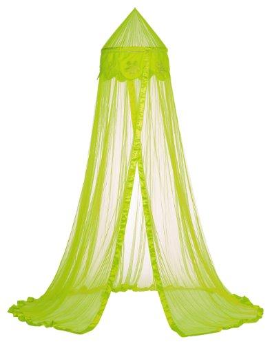 Taftan Ciel de Lit Fleurs vert anis - Vert anis