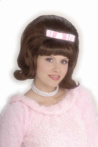 Forum Novelties 50's Bouffant Costume Wig Adult Women Brown
