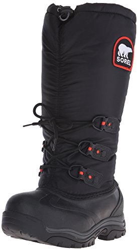 SOREL Women's Snowlion Xt Snow Boot, Black, 6 B US