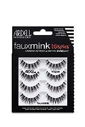 top 10 wispie lashes bulk Adel Fake Mink Whispy False Eyelash Set 1 Pack x 4 Pairs