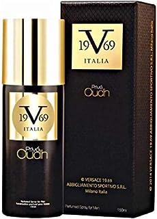 V 19.69 Italia Oudh Deodorant Spray - For Men(150 ml) Versace