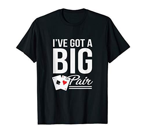 Funny Texas Hold Em Poker Shirts Vegas Casino Gift Men T-Shirt