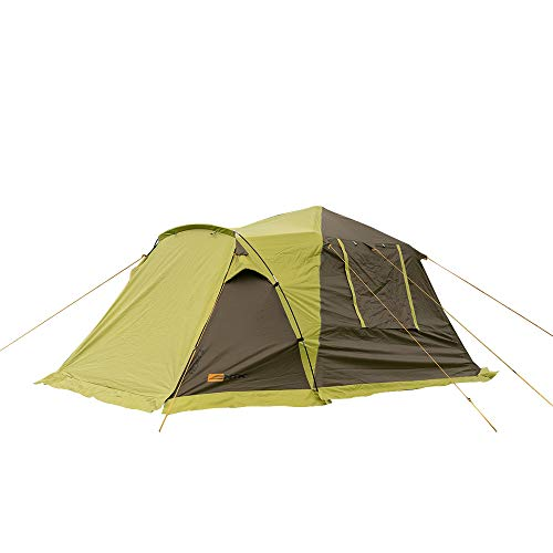 NTK Proxy 4 Sleeps up to 4 Person 7 by 7 FT Outdoor Instant Dome Family Camping Tent 100% Waterproof 2500mm, Easy and Quick Assembly, Durable Fabric and Micro Mosquito Mesh
