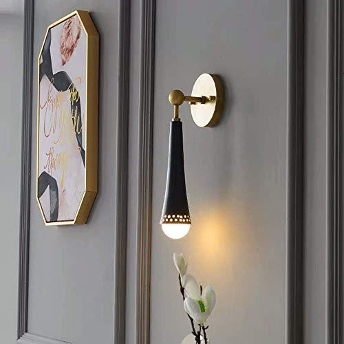Mkjbd wandlamp tuinlamp wandlamp volledig koper modern woonkamer TV muur designer creatieve lampen gepersonaliseerde wandlampen mode licht MM