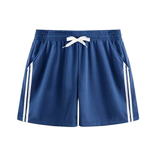 U/A Hombres Deportes de Secado Rápido Pantalones de Moda de los Hombres Casual Pantalones Caliente de Verano Delgados Deportes Pantalones Cortos Azul azul 54