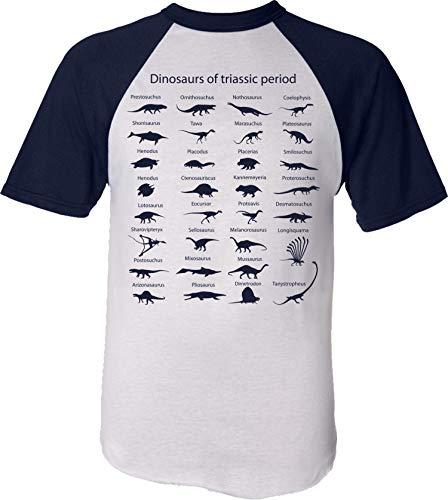 Camiseta: El Mundo de los Dinosaurios/Triásico - Dinosaurio Dino Jurassic T-Rex Planet...