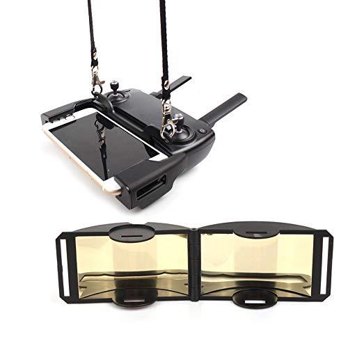 HSKB Fernbedienung Handyhalterung Umhängeband Outdoor Brustgurt Lanyard und Signal Booster Kompatibel mit DJI Mavic Mini/Mavic Pro/Mavic Air/Spark Drone Zubehör