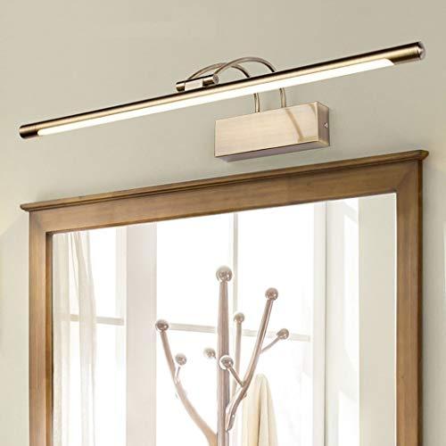 LHH LED överskåp ljus/spegelljus/badrumsvägglampa, för sminkspeglar/badrum ?Vägglampan för toalettrummet (färg: Cool vit – 75 cm 16 W)