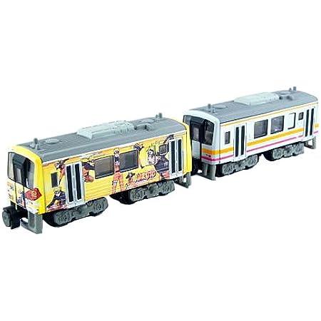 Bトレインショーティー JR西日本商事 キハ120 NARUTO-ナルトー列車/津山線色 気動車2両入り 彩色済みプラモデル