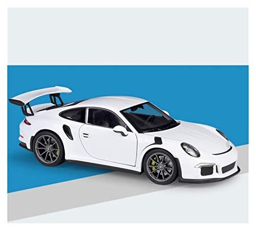 Niño Control remoto de automóvil Modelo de control de automóvil Modelo de coche 1:24 para Porsche 911 para Carrera 4S (992) Simulación de autos deportivos Simulación Simulación Control remoto Aleación