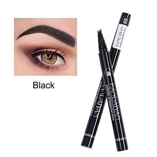 Dastrues Eyebrow Tattoo Pen,Eyebrow Pen Microblading Eyebrow Tattoo Pen Fine Sketch Liquid Eyebrow Pen Impermeable Lápiz de Cejas