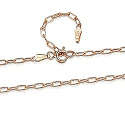 PREMIUM QUALITY JEWELLERY - Amberta jewellery is designed to last a lifetime. Crafted of real 9 Carat Gold. Sturdy, durable spring clasp. Adjustable to comfortable fit. AUTHENTIC GOLD - Made in Italy. Stamped .375 and Hallmarked. Authenticity and qua...