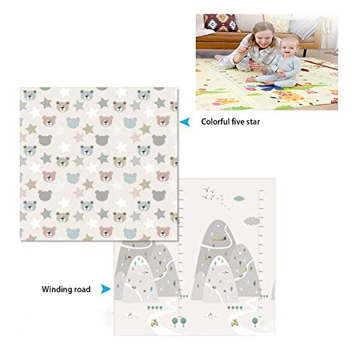 Purchase Baby Play Mat Extra Large Play Mat for Baby Folding Mat Baby Crawling Mat Kids Playmat Wate...