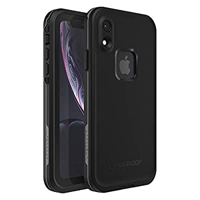 Lifeproof FR? SERIES Waterproof Case for iPhone XR - Retail Packaging - ASPHALT (BLACK/DARK GREY)