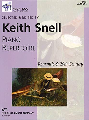GP621 - Piano Repertoire: Romantic & 20th Century, Level 1