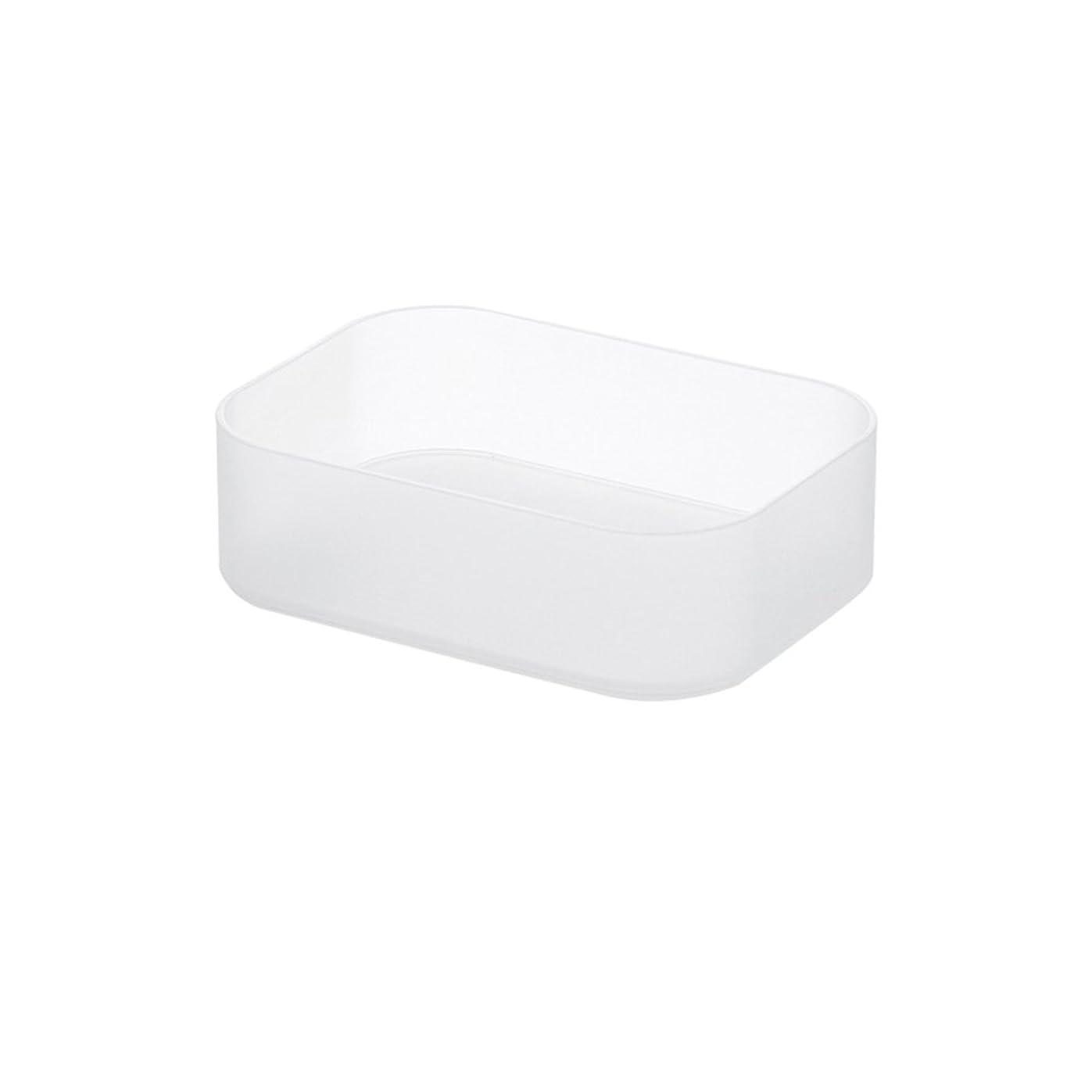 おなじみのしつけ植物学化粧品収納ボックス デスクトップ 簡素 化粧台 半透明 プラスチック 砂を磨き上げる 収納ボックス 純色 日本式 プラスチック ファッション 精緻感 8種類 収納用品 家庭用 事務室 品質保証 長持ちする 持久性 一格 多格 ブラシ (単格短箱(小))