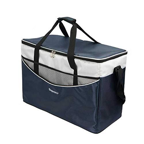 HSJ LF- Aislamiento portátil Bolsa Grande Espesado for Llevar Incubadora de Picnic al Aire Libre Impermeable de Mama Leche Bolsa de Hielo refrigerada Protección del Medio Ambiente (Color : Blue)