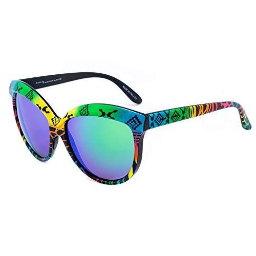 italia independent 0092INX-149-000 Gafas de sol, Bicolor, 58 para Mujer