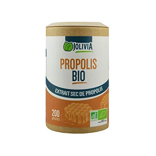 Propolis Bio Extrait - 200 gélules végétales 250 mg