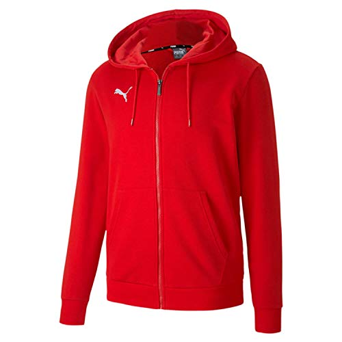 PUMA Herren teamGOAL 23 Casuals Hooded Jac Pullover, Red, 3XL
