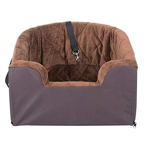 Neckip - Asiento de Coche para Perros pequeños y medianos con cinturón de Seguridad para Perros
