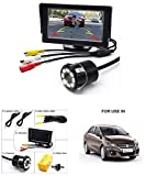 Campark Reverse Parking Assistance 4.3 Inch Tft LCD Monitor with 8 Led Night