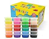DEENGL Arcilla ultraligera seca al aire para niños de educación temprana juguete DIY color plastilina